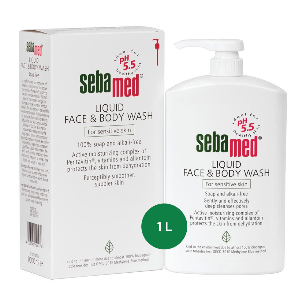 Sebamed - Liquid Face _ Body Wash (1000 ml) - sfw - 1.jpg